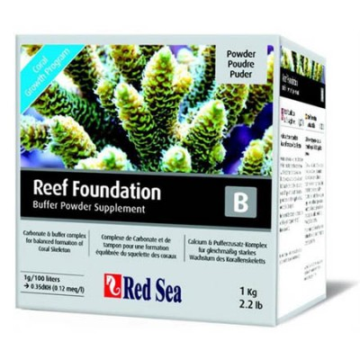 Red Sea Reef Foundation B  (Kh Buffer) 1kg